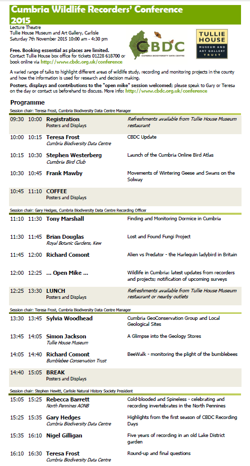 Conference Programme 2015