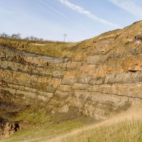 Stratigraphy at Parkhead Quarry